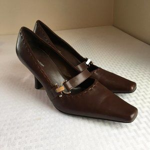 Worthington Leather pumps - great cond - 8M